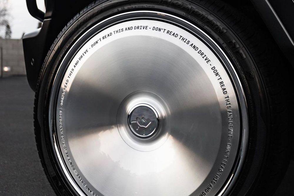 Mercedes-Benz G550 on Forgiato Wheels (Cactus Jack) 2020 года