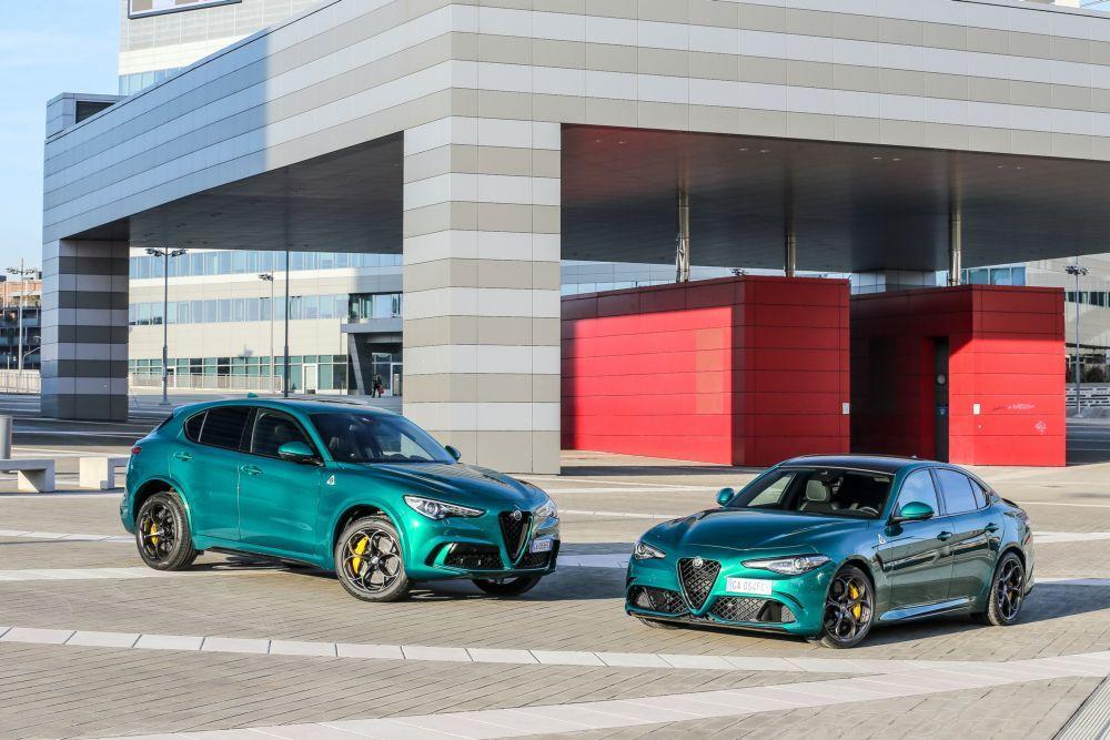 Alfa Romeo Giulia Quadrifoglio и Alfa Romeo Stelvio Quadrifoglio 2020 года