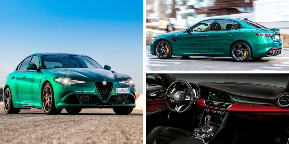 Alfa Romeo Giulia Quadrifoglio 2020 года