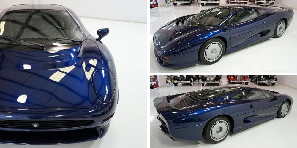 Jaguar XJ220 1994 года, в цвете Le Mans Blue