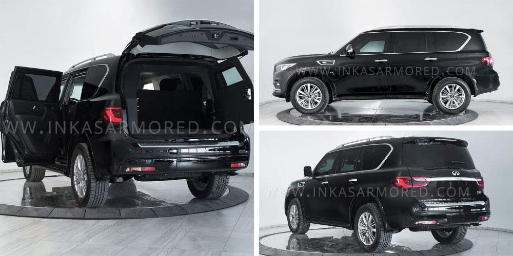 Infiniti QX80 5.6 Armored by Inkas 2020 года