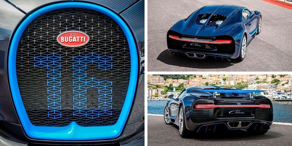 Bugatti Chiron 2017 года, в цвете Royal Blue, The Car Finders
