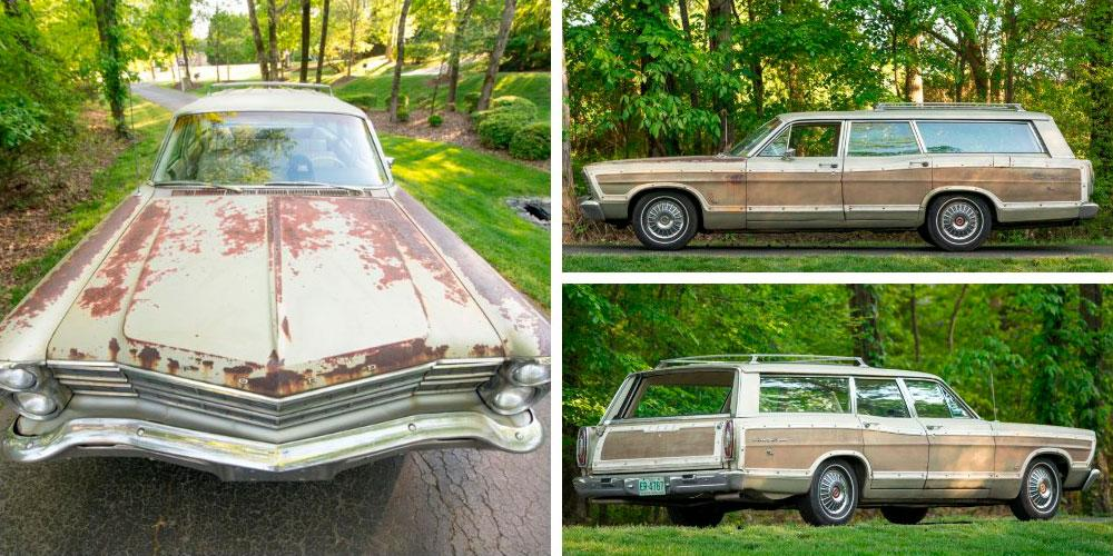 Ford Country Squire Station Wagon 428 1967 года, Bring a Trailer