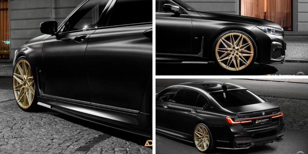 BMW M760Li xDrive by Auto-Dynamics on Vossen Wheels (EVO-5R) 2020 года