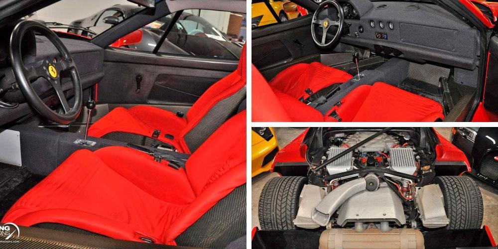 Ferrari F40 1992 года, Driving Emotions