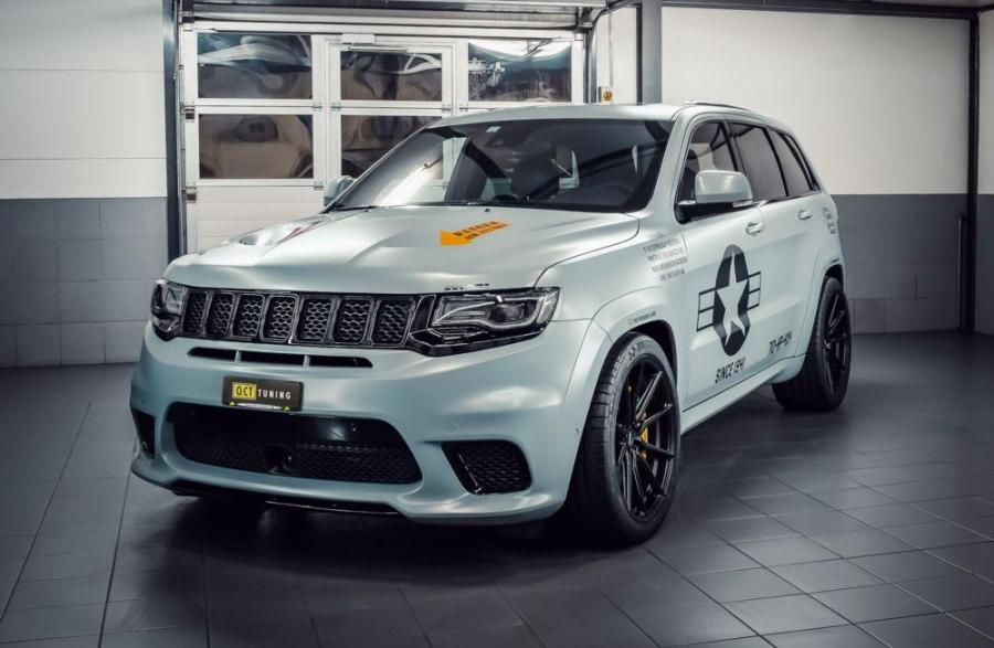 Jeep Grand Cherokee Trackhawk стал еще мощнее