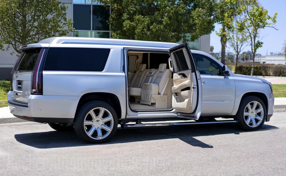 Cadillac Escalade ESV Mobile Office by Becker Automotive Design