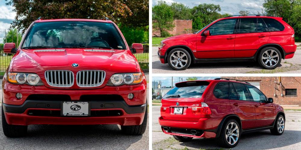 BMW X5 4.8is 2004 года, Bring a Trailer