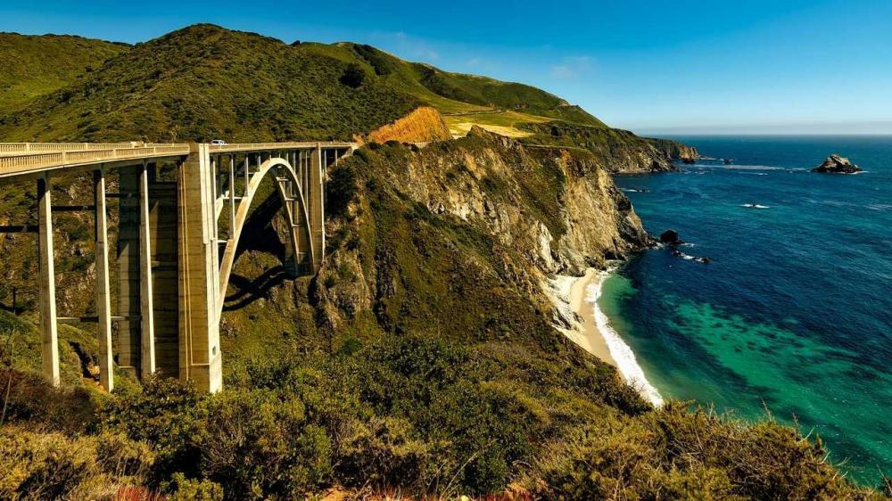 США: магистраль Тихоокеанского побережья