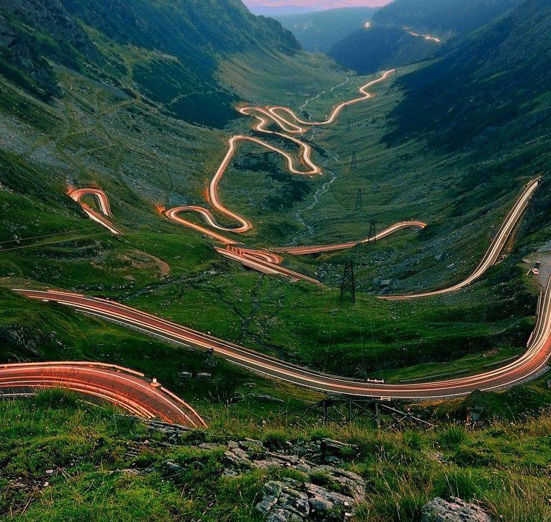 Румыния: шоссе Трансфэгэрашан