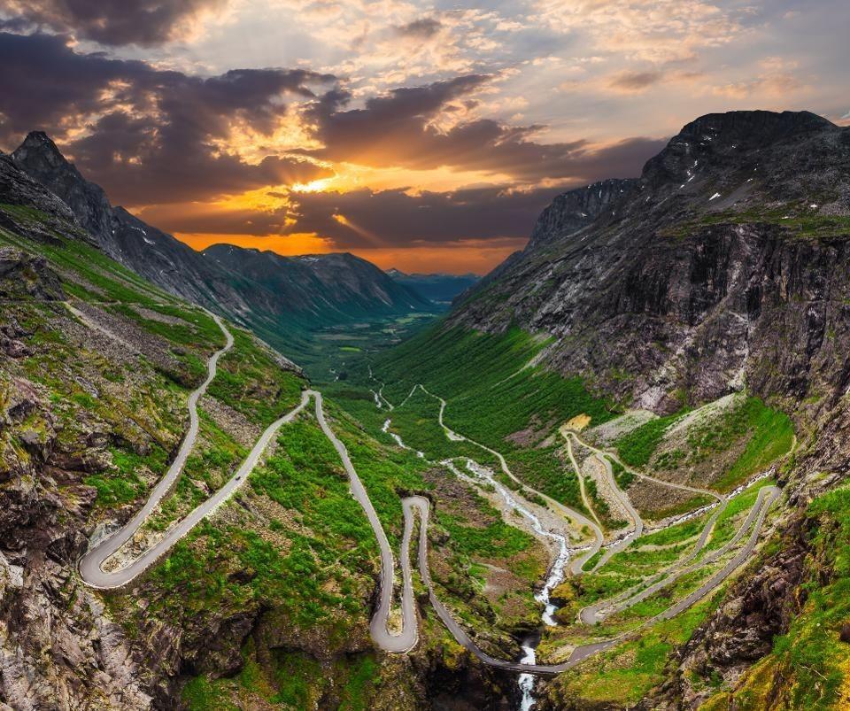 Норвегия: Лестница троллей