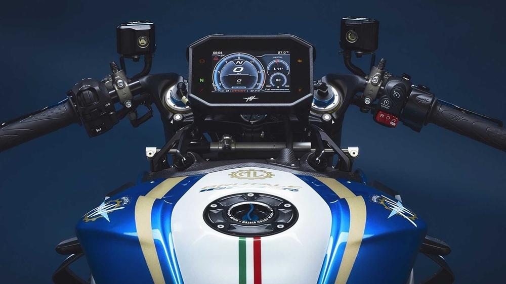 MV Agusta Brutale 1000 RR Blue & White ML 2020 года