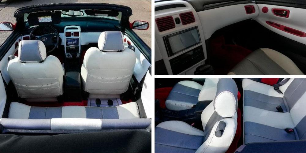 Toyota Camry Solara с деталями BMW