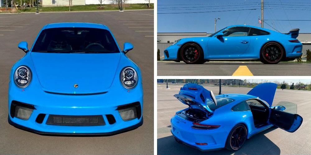 Porsche 911 GT3 2018 года, Bring A Trailer
