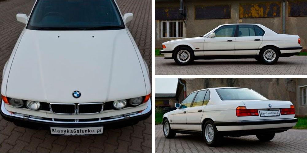 BMW 740i 1992 года