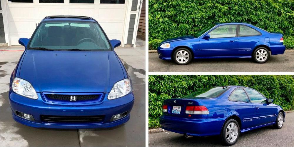Honda Civic Si Coupe 2000 года, Bring А Trailer