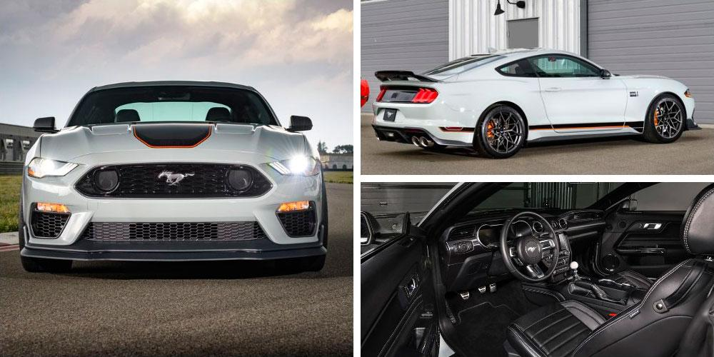 Ford Mustang Mach 1 Handling Package 2020 года