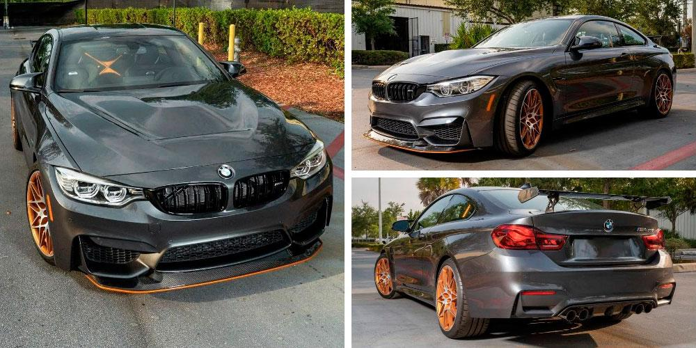 BMW M4 GTS 2016 года, Bring a Trailer