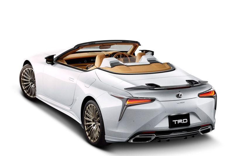 Lexus LC500 Convertible by TRD 2020 года