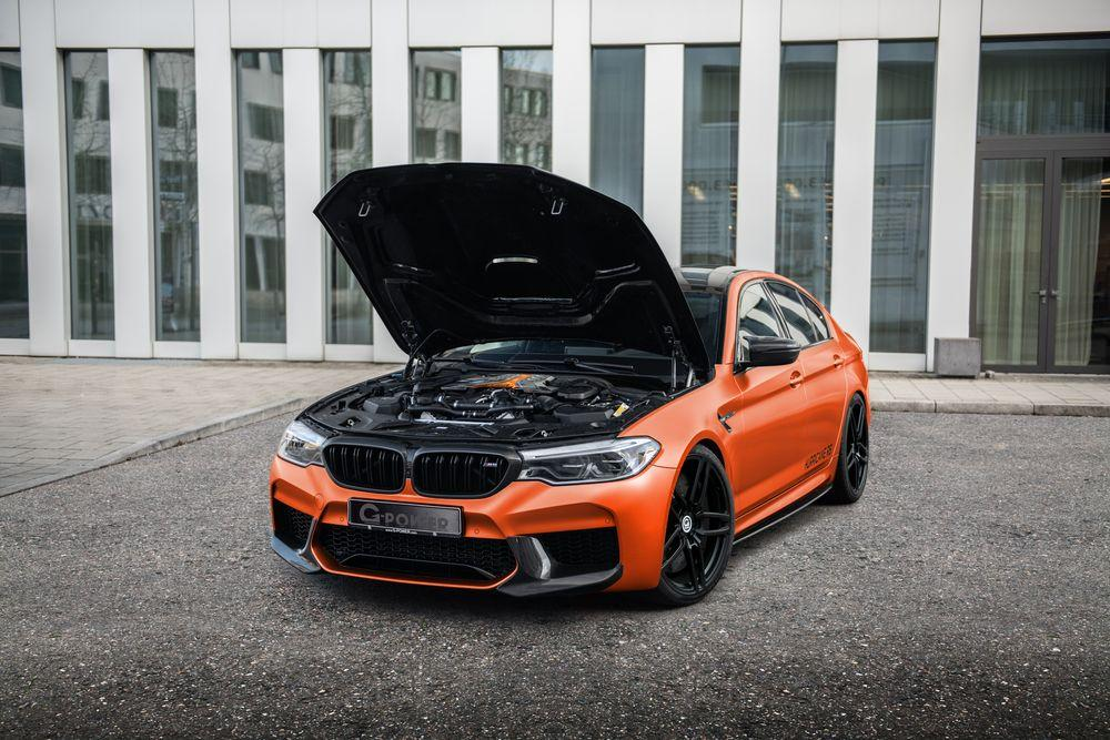 BMW M5 Hurricane RS by G-Power 2020 года