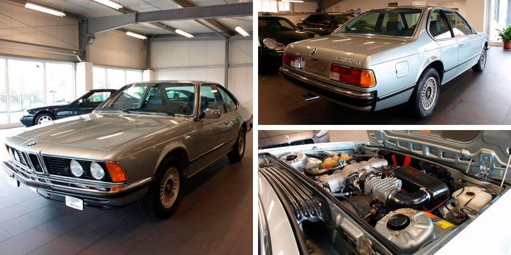 BMW 633 CSi 1983 года