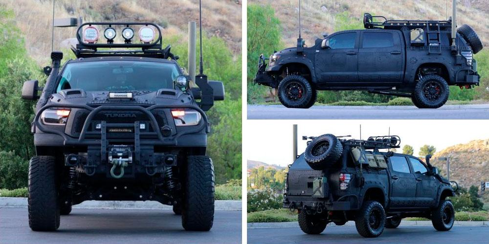 Toyota Tundra CrewMax 4x4 Zombie Apocalypse 2013 года, Bring A Trailer