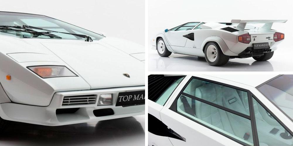 Lamborghini Countach LP5000 S Quattrovalvole 1985 года, Top Marques