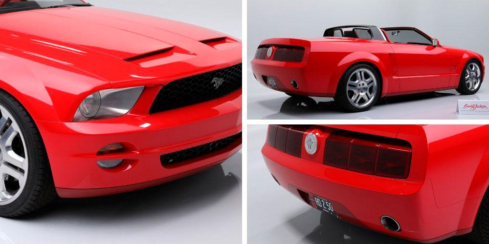 Ford Mustang GT Convertible Concept 2004 года, Barrett-Jackson