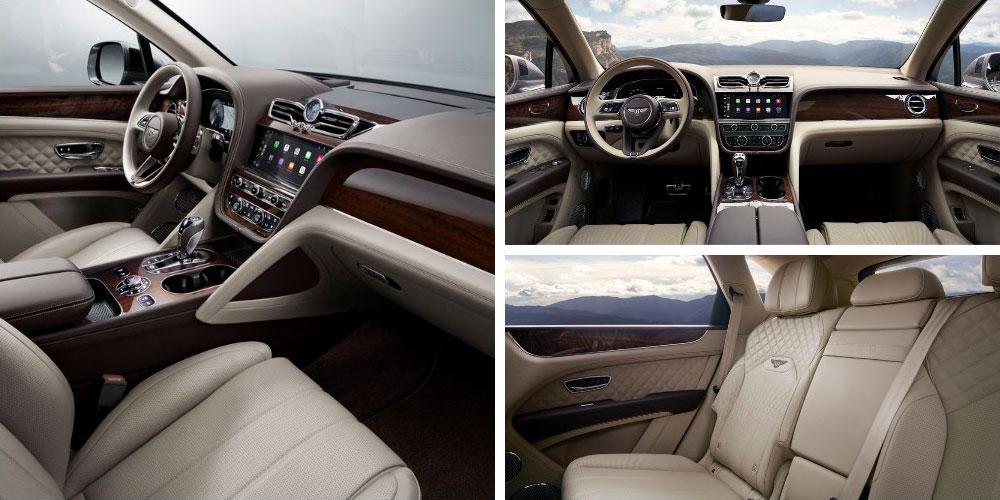 Bentley Bentayga V8 2020 года