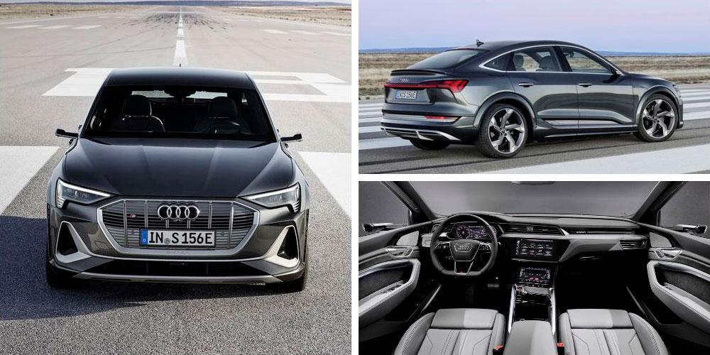Audi e-tron S Sportback 2020 года