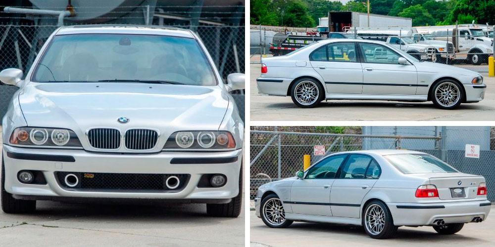 BMW M5 2003 года, Bring A Trailer