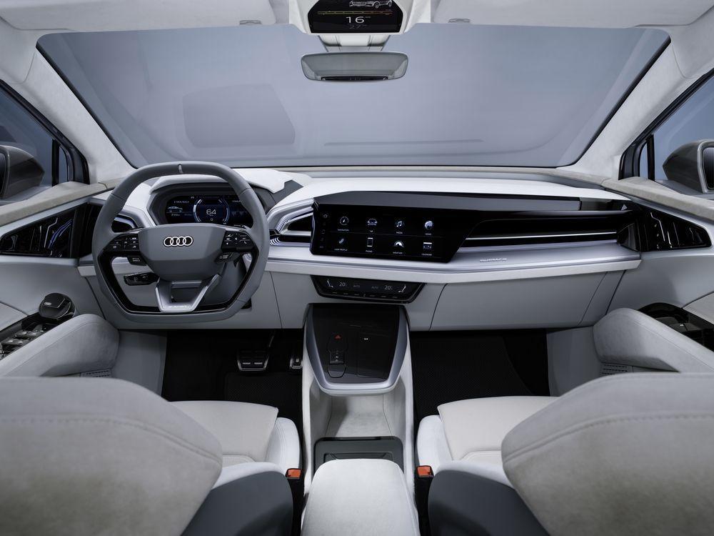 Audi Q4 Sportback e-tron Concept 2020 года