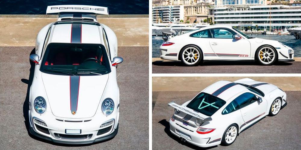 Porsche 911 GT3 RS 4.0 2011 года, RM Sothebys