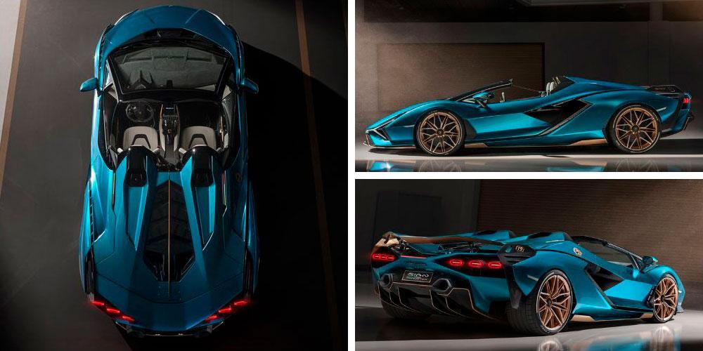 Lamborghini Sian Roadster 2020 года