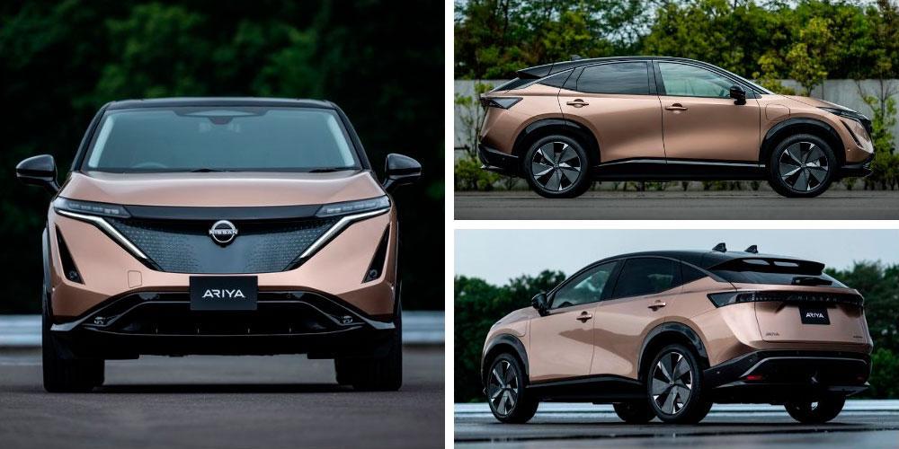 Nissan Ariya 2020 года