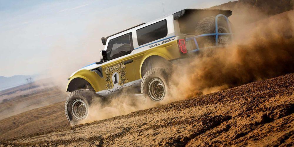 Saleen Big Oly Bronco 2020 года