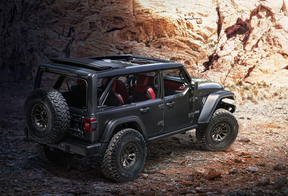 Jeep Wrangler Rubicon 392 Concept 2020 года