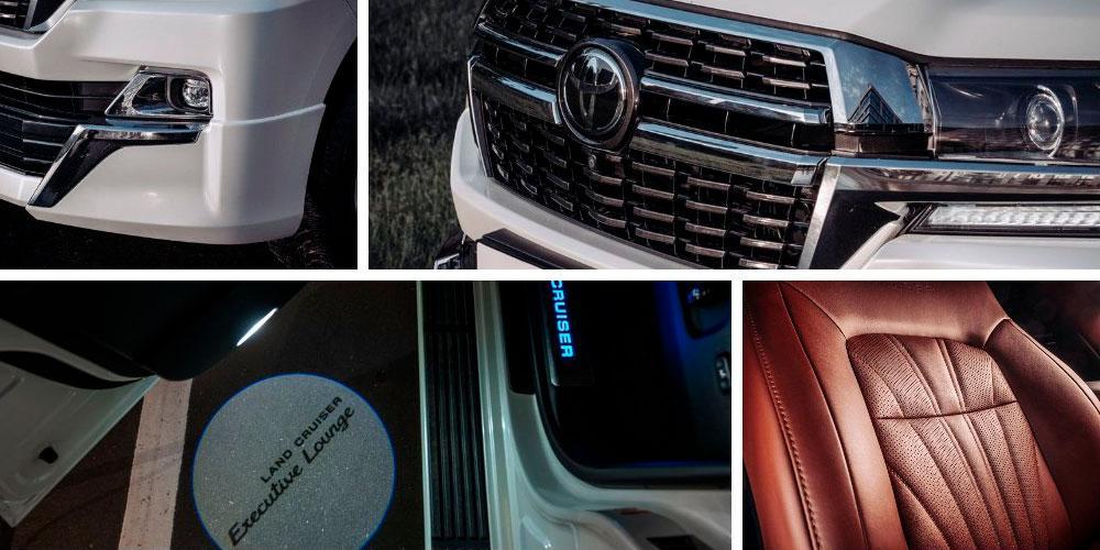 Toyota Land Cruiser 200 Executive Lounge 2020 года