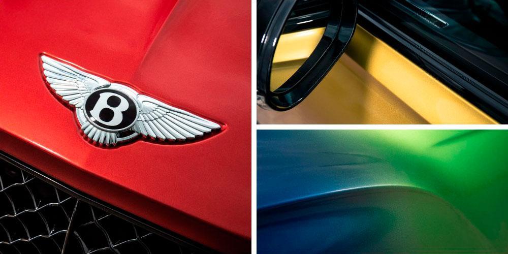 Bentley Continental GT Convertible First Edition Rainbow Hero 2020 года