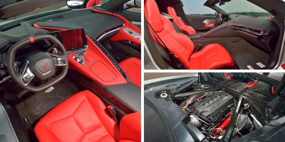 Chevrolet Corvette Stingray Convertible (C8) 2020 года