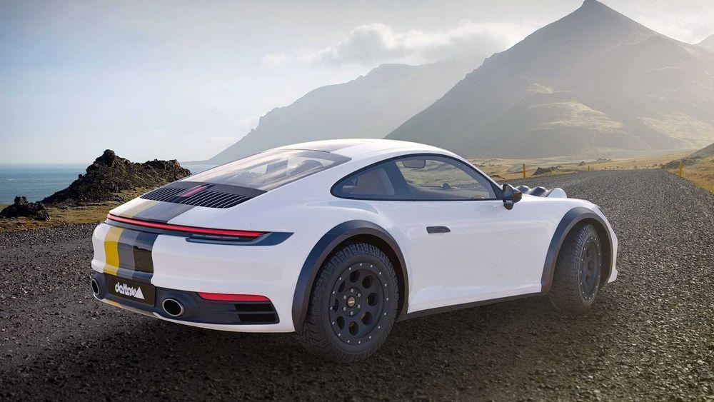 Porsche 911 Carrera 4S by Delta 4x4 2020 года