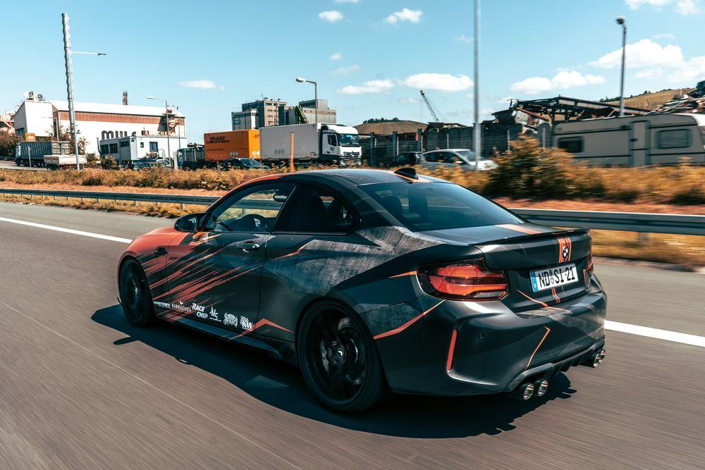 BMW M2 Competition by JMS 2020 года