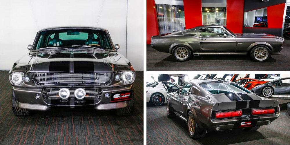 Ford Mustang Shelby GT 500 Fastback Eleanor Gone In 60 Seconds Edition 1967 года