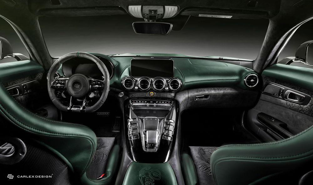 Mercedes-AMG GT R Pro Tattoo Edition by Carlex Design 2020 года