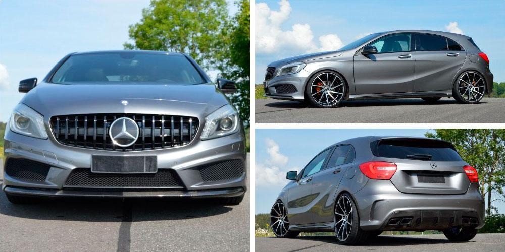 Mercedes-Benz A-Class by Inden Design on Oxigin Wheels 2020 года