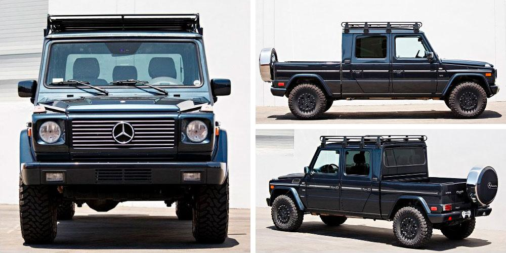 Mercedes-Benz G500 Custom Pickup 2002 года, Gooding & Co