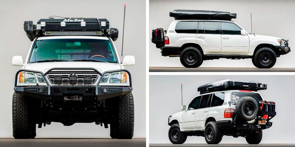 Lexus LX470 Overland Modified 2005 года, Bring a Trailer