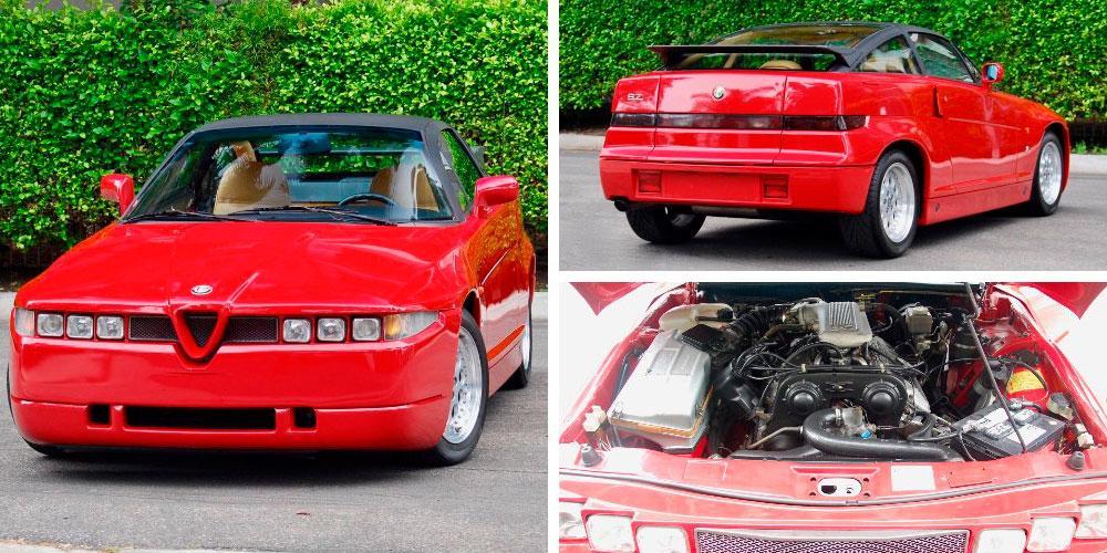 Alfa Romeo S.Z. 1992 года