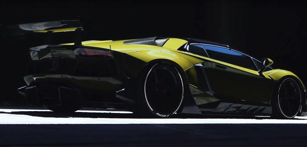 Lamborghini Aventador LP750-4 Superveloce Roadster by Liberty Walk & RDB LA