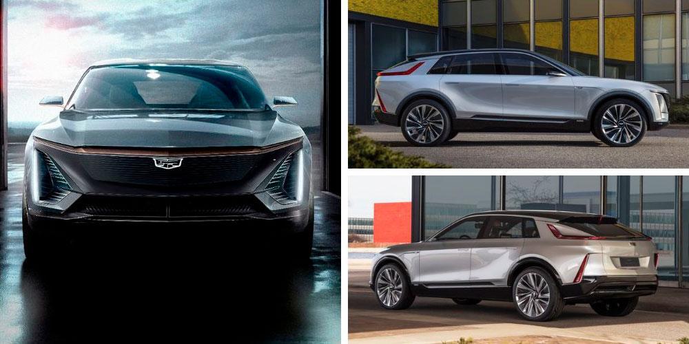 Cadillac Lyriq Show Car 2020 года